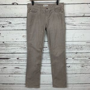 Madewell Corduroy Rail Straight Jean